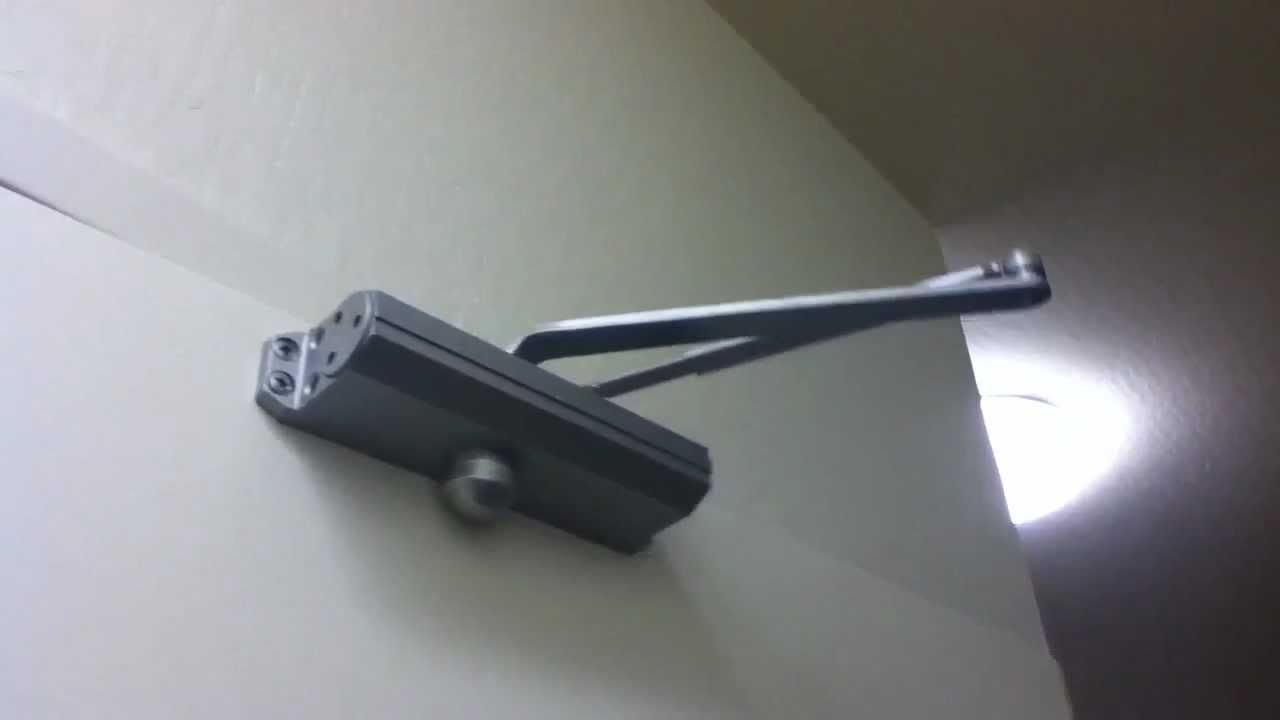 Norton Door Closer Youtube