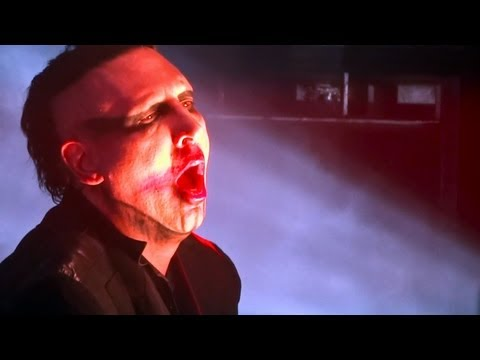 Marilyn Manson 'Personal Jesus' at Modesto Centre Plaza on 2/15/13
