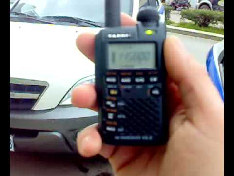 OR4ISS signal reception with yaesu vx-3