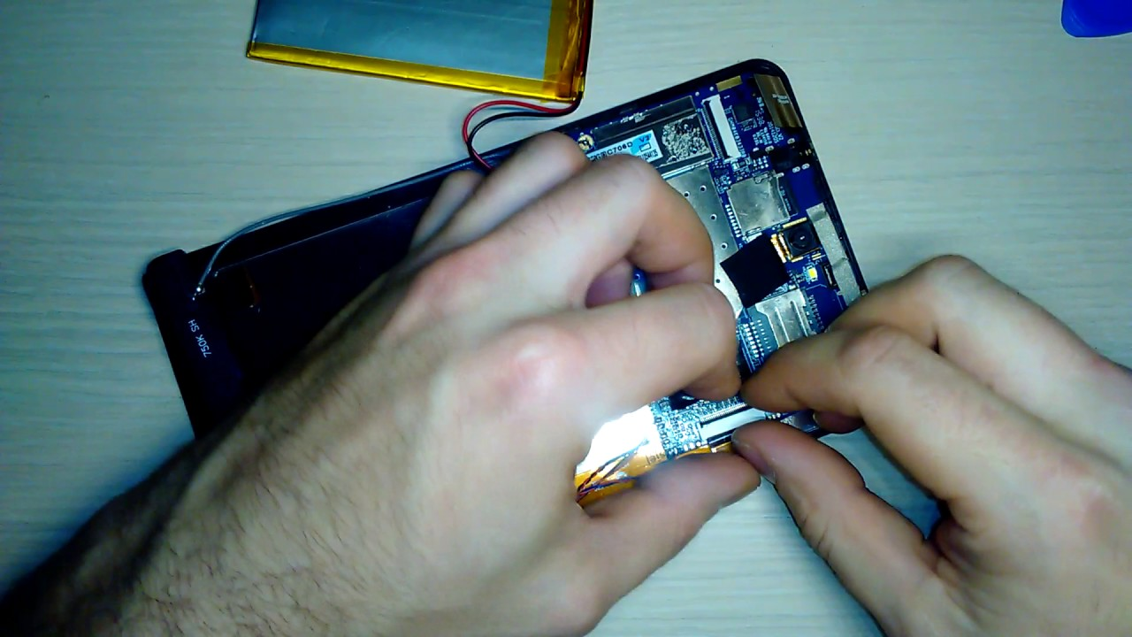 Разобрать планшет своими руками