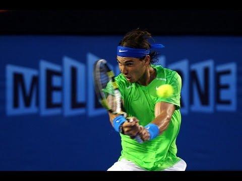 Roger Federer vs. Rafael Nadal Australian Open 2012 Semifinal