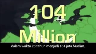 Jerman prediksi Muslim di Eropa 20 thn lgi mencapai 104 juta