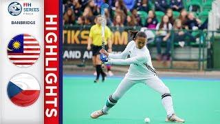 Malaysia v Czech Republic | Women's FIH Series Finals | Match 09 Highlights