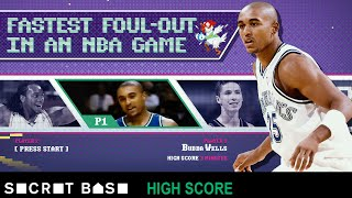 How fast can you foul out of an NBA game? | High Score
