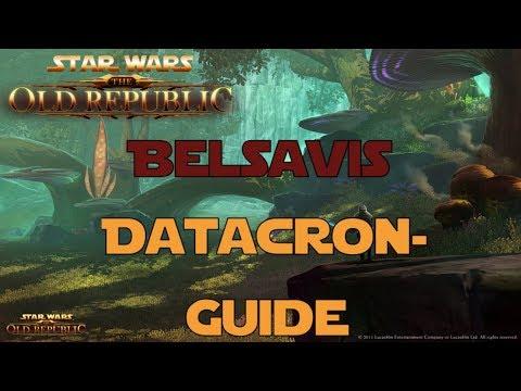 SWTOR Datacron Guide für Belsavis Imperium