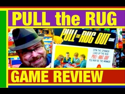 Pull the Rug out Game Toy Review by Mike Mozart on TheToyChannel on YouTube
