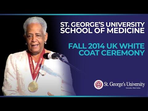 Fall 2014 White Coat Ceremony - UK - KBTGSP