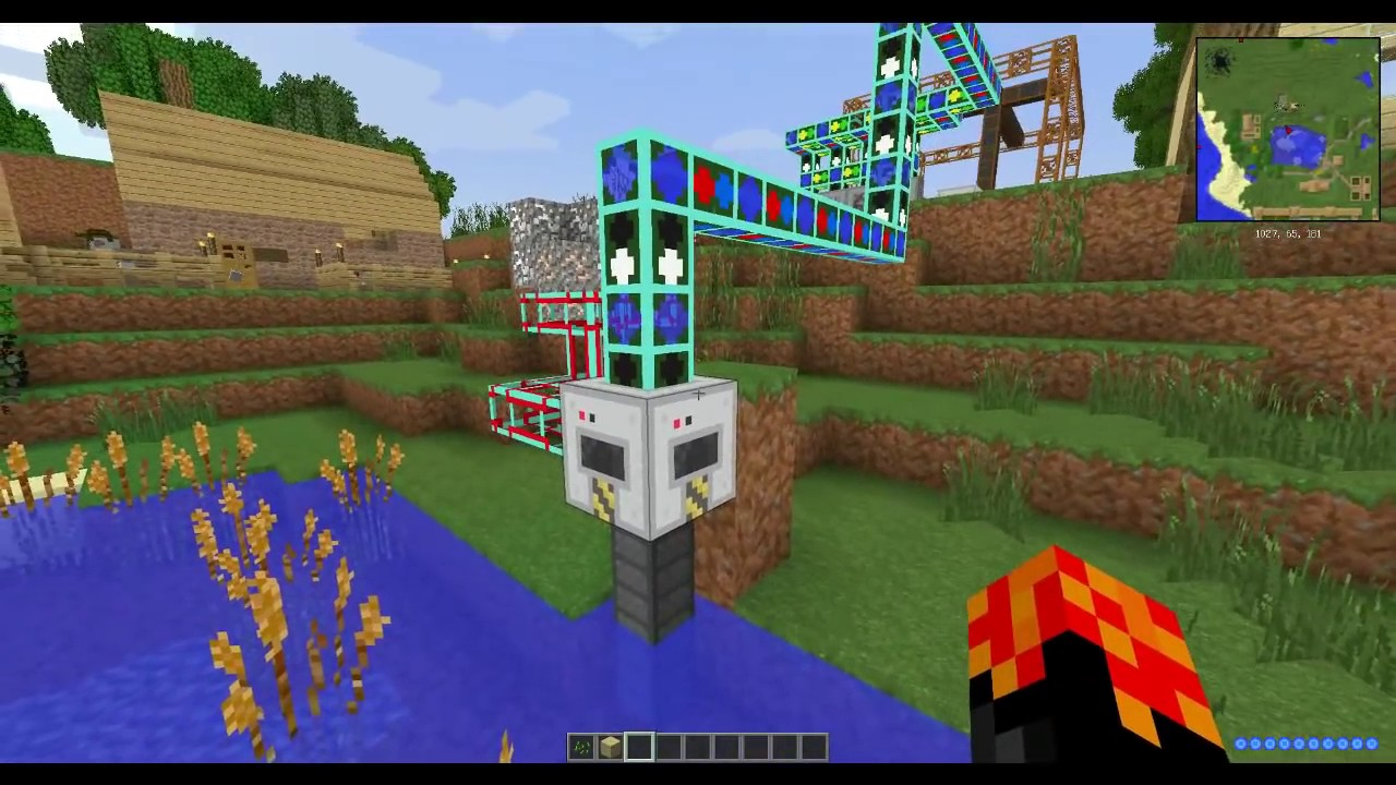 Minecraft сборка с модом милинеер
