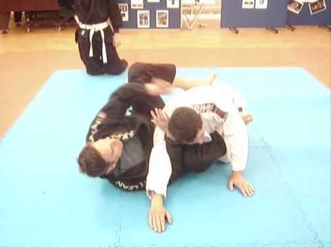 Gi Choke Submission from Closed Guard Image 1