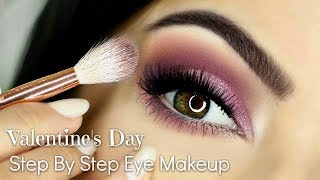 Beginner Friendly Valentine's Day Eye Makeup Tutorial