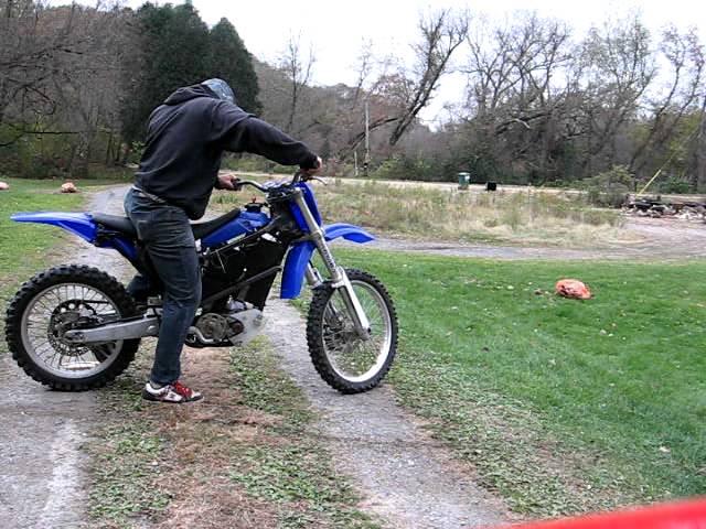48V electric dirt bike - YouTube