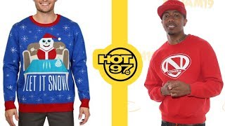 Eminem Responds To Nick Cannon's Diss + Walmart Sells Snowman Cocaine Sweater