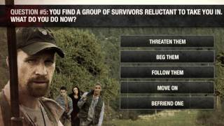 The Walking dead Zombie Survival Quiz How Long Will You Survive