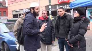 Inviting People To Islam(Norway) & a Norwegian Sister Accept Islam