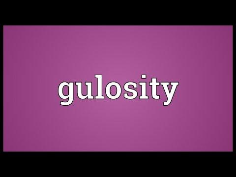 Header of gulosity