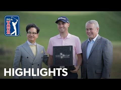 Justin Thomas' winning highlights from THE CJ CUP 2019