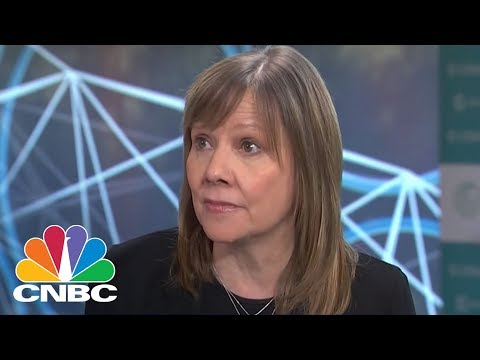 GM CEO Mary Barra: We See An All Electric Future | CNBC