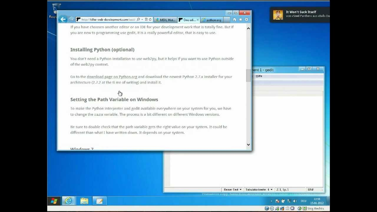 how to download python on windows