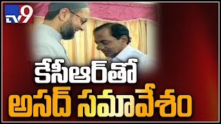 MIM leader Asaduddin Owaisi to meet KCR today