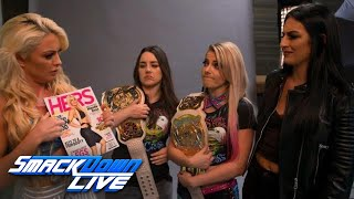 Alexa Bliss & Nikki Cross accept challenge from Mandy Rose & Sonya Deville: Exclusive, Sept. 3, 2019