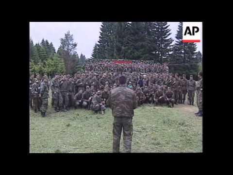BOSNIA: WAR CRIMINAL MLADIC CONTINUES TO MAKE PUBLIC APPEARANCES