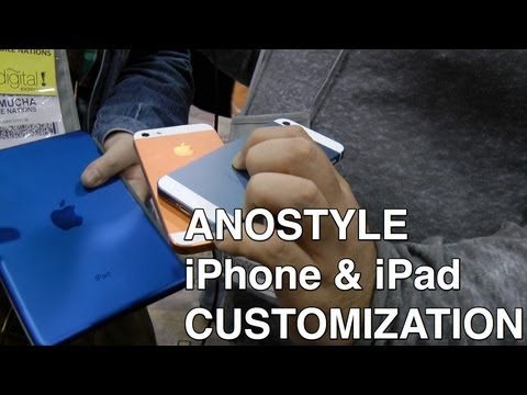 AnoStyle iPhone & iPad mini custom color service interview