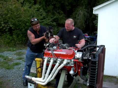 Chevy Big Block 454 Engine Starting