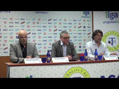 Tisková konference FK Teplice před startem jarní části (15.2.2017)