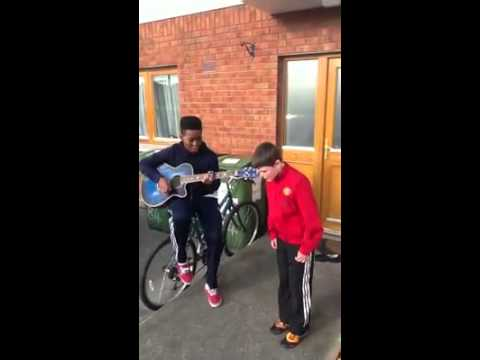 2 Irish Boys Sing We Found Love! Amazing...