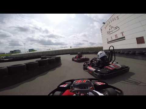 Brussels Kart - Junior Summer Cup 2016 - Maarten - Deel 2