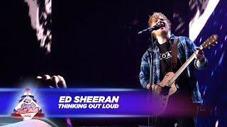 Ed Sheeran Thinking Out Loud Live At Capital S Jingle Bell Ball 2017