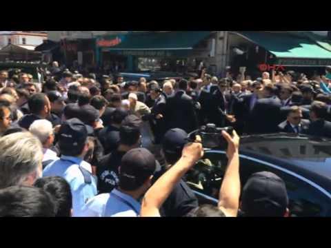 Başbakan Soma da Ölen madenciler için gıyabi cenaze namazı kıldırdı