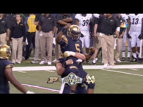 Notre Dame vs. Purdue Highlights 2014 - ND 30 Purdue 14