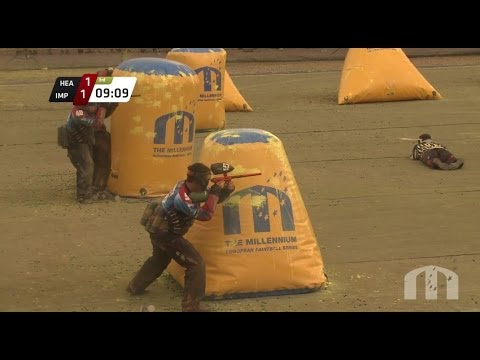 2014 CPL Pro Finals Paintball Webcast - Houston Heat vs Edmonton Impact - Millennium Series Med. Cup