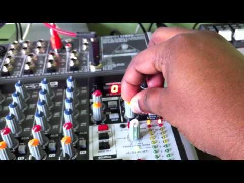 Behringer Xyenx 1622usb (PFL Level Setup & Onboard FX)