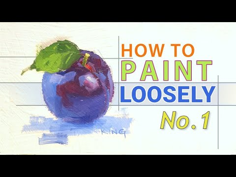 Painting Techniques :: An Exercise for Painting Loosely