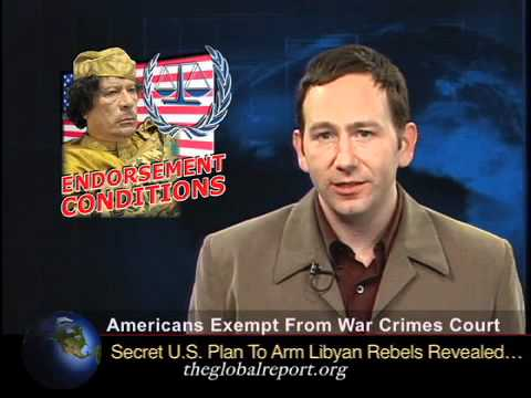 Americans Exempt From War Crimes Court
