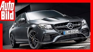 AMG E 63 S (LA 2016) - Die Edition 1 der Power E-Klasse Premiere/Review