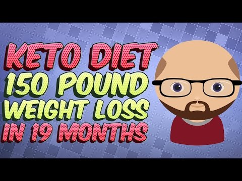 Keto Diet Weight Loss Transformation: 150 pounds lost eating Low Carb High Fat (LCHF)