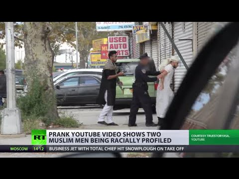 'Muslim dress' prank video exposes US racial profiling