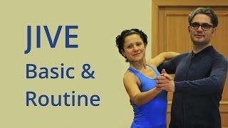 How to Dance Jive Basic & Basic Routine