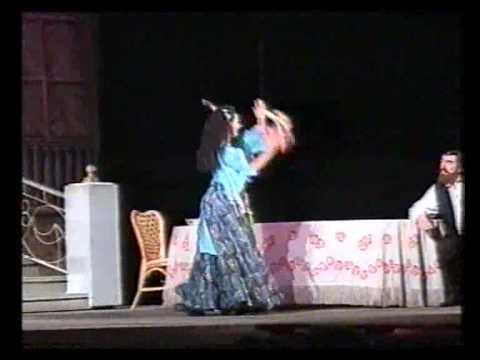«Плясунья — дочь шатров», танец Алмазы Плахотной