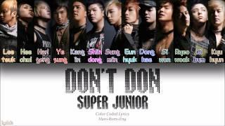 Watch Super Junior Dont Don video