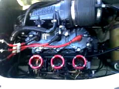 Yamaha Gp1200 1998 Load Test Revving Youtube