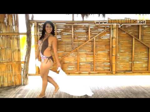 Candidatas a reina del Carnaval, Huaquillas 2013 - en la Isla San Gregorio
