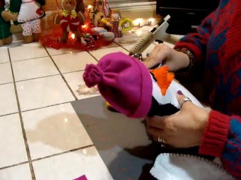 DIY-PINGUINITO EN FIELTRO (ADORNO NAVIDEÑO) BBarte1 manualidades