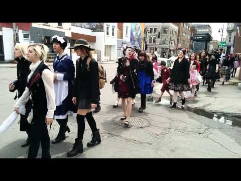 Harajuku Fashion Walk in Montreal; May 31, 2015