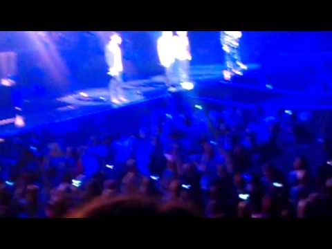 The Wanted The Code Manchester - Gold Forever/All Time Low Live