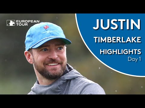 Justin Timberlake Golf Highlights | 2019 Alfred Dunhill Links Championship