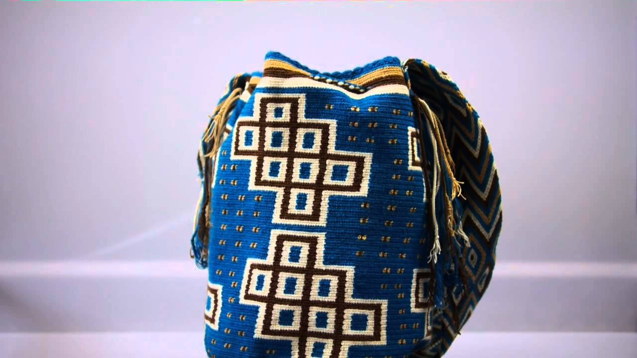 mochilas wayuu aus kolumbien powered by molago youtube. Black Bedroom Furniture Sets. Home Design Ideas